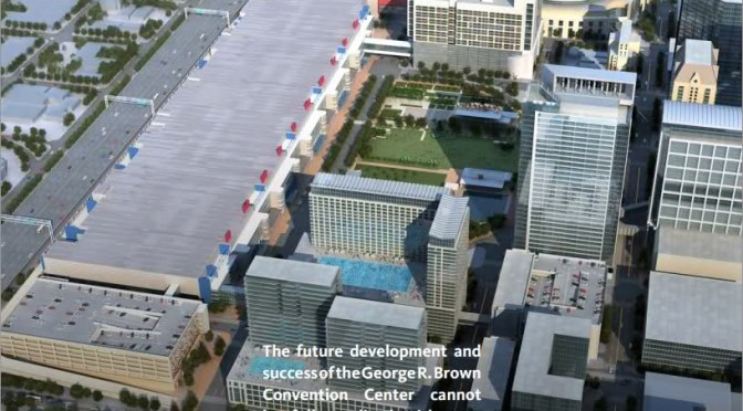 Houston's new Downtown Hotel! and why we need it