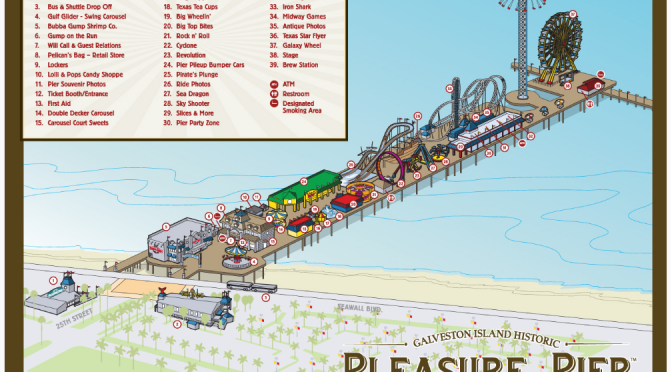 Summer just got cooler in Texas… Galveston's Pleasure Pier