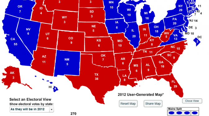 All In: my 2012 Election Prediction