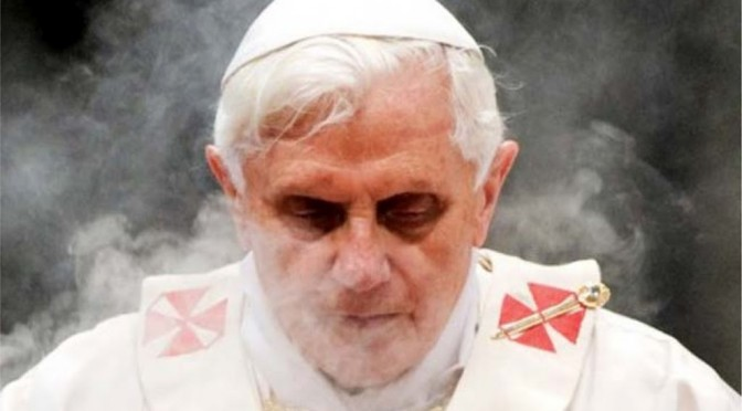 "Pope Benedict XVI allegedly seeking ""Legal Immunity"""