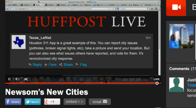 HuffPost Live discussion: Newsom's New Cities