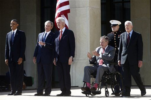 George W. Bush Day, and Why Barbara is my Favorite Bush