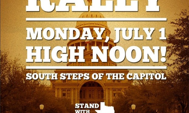 The 1st Stand With Texas Women Rally