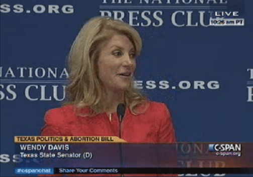 Wendy Davis narrows the field