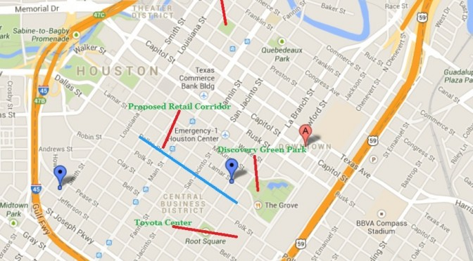 A Retail Plan for Downtown Houston