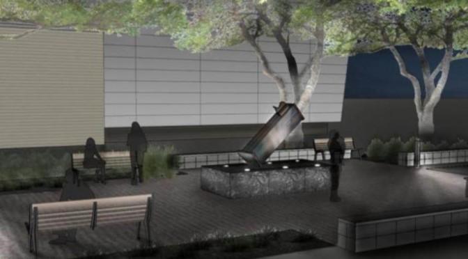 University of Houston Building Special 9/11 Memorial
