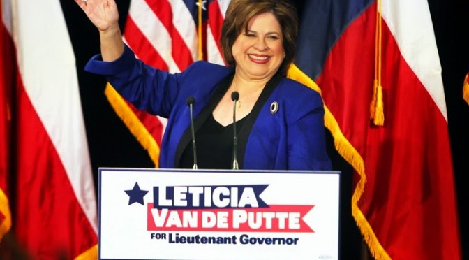 In Lt. Governor's Race, It's Time for Leticia