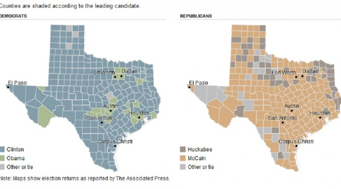 More Evidence: Texas Doesn't Vote