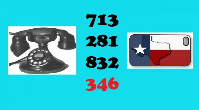 Houston's New Area Code:  346