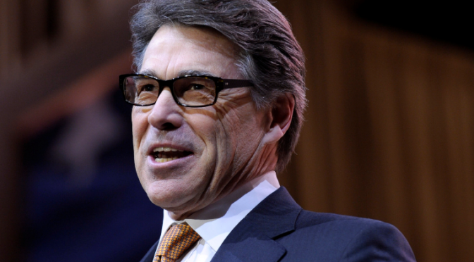 Rick Perry Indicted On Felony Abuse of Power Counts
