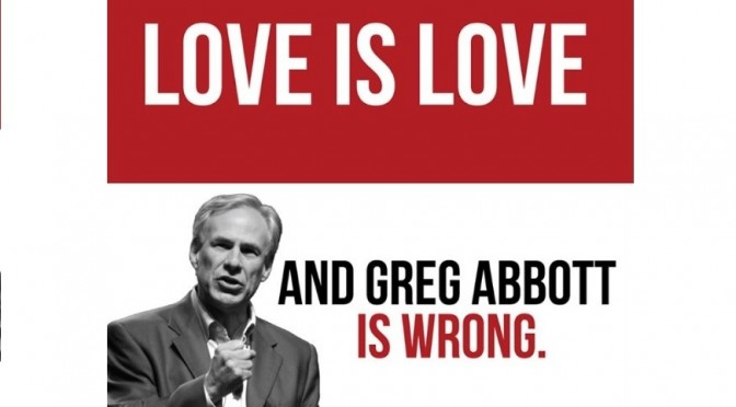Greg Abbott:  LGBT Texans Aren't Stable Enough For Marriage