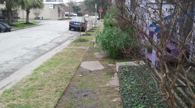 Montrose Residents Mobilize For Better Sidewalks