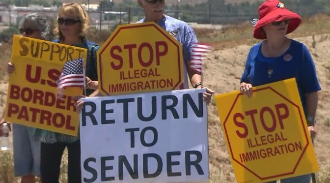 The Immigration Fight:  Protesting Children??