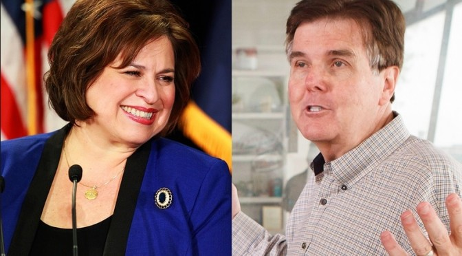 Debate Grate:  Is Dan Patrick Afraid of Leticia Van de Putte??