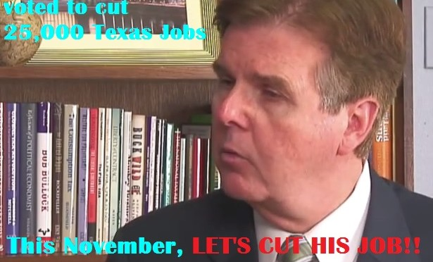 Yes Dan Patrick… You Voted For School Funding Cuts