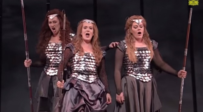 Music Musings:  The Ride of the Valkyries (Walkürenritt)
