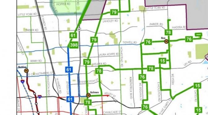 Houston:  METRO Reconsiders FLEX Service