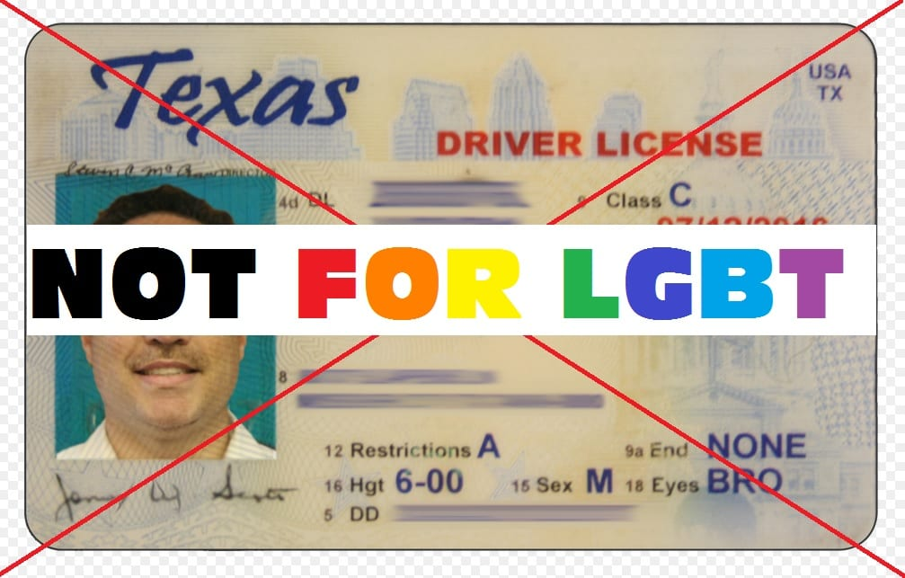 Dps Discrimination Texan Refused License Over Marriage Certificate