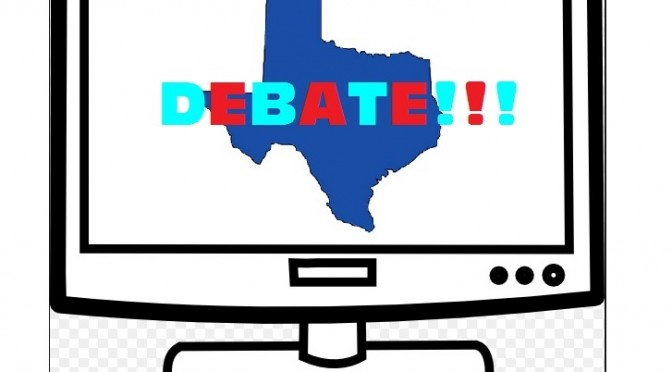Where To Watch The First Texas Gubernatorial Debate