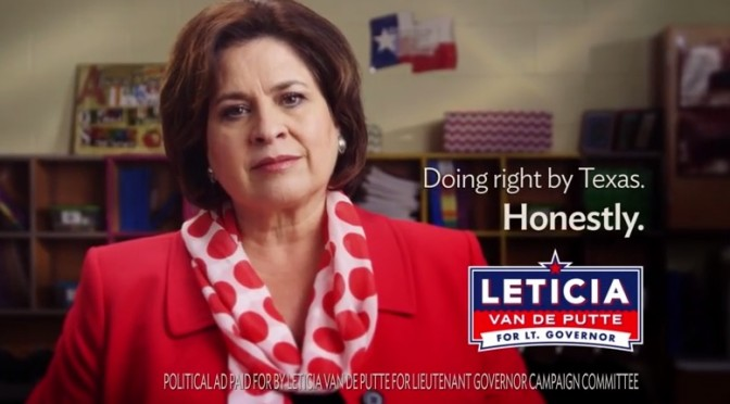 Leticia Van de Putte Launches TV Campaign