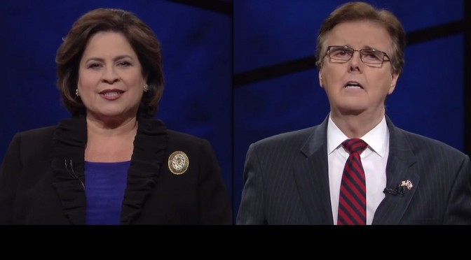 Texas Lt. Gubernatorial Debate:  Review