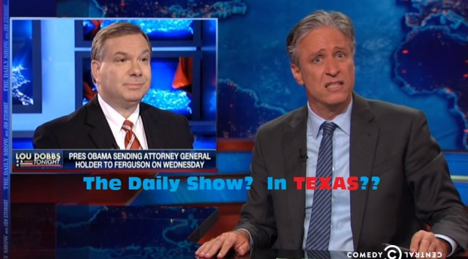 "The Daily Show Set to ""Mess Around"" in Austin"