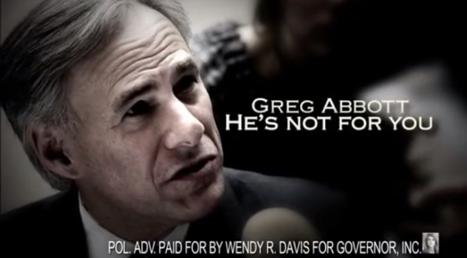 "Davis Hits Abbott With Controversial New Ad, Addressing ""Wheelchair"""