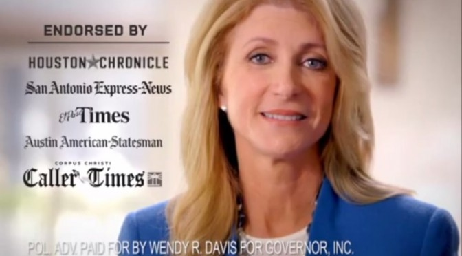 Wendy Davis' Closing Argument?  Education