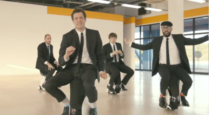 Music Musings:  OK Go- I Won't Let You Down