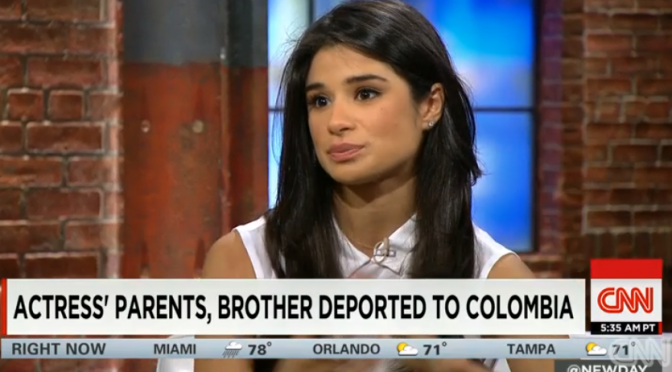 "Actress Diane Guerrero Tells Her Story:  ""My Parents Were Deported"""