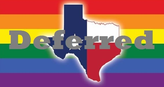 Texas Judge Declines To Lift Stay Preventing Marriage Equality