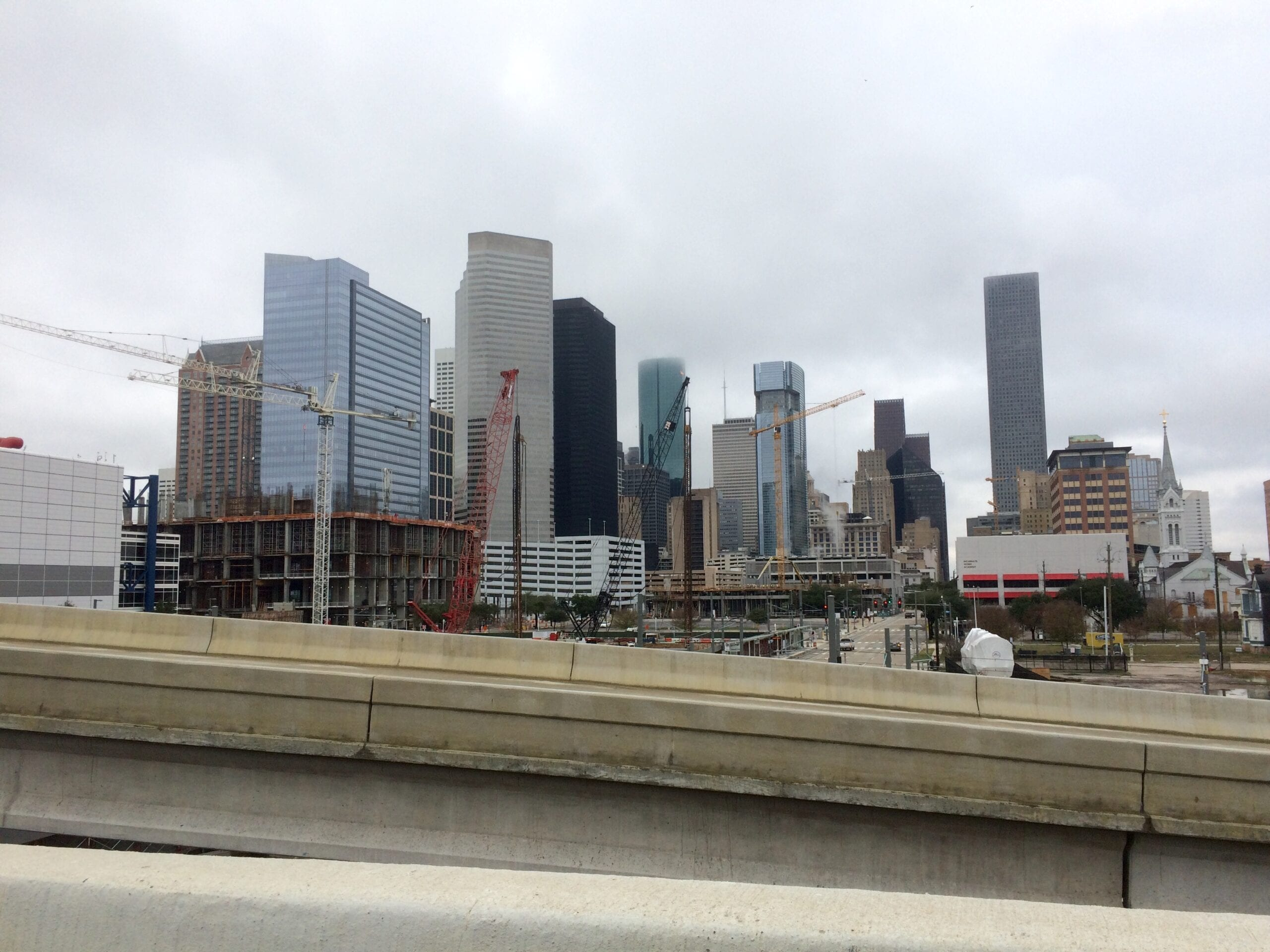 Could The Houston Construction Boom Go Bust Texas Leftist