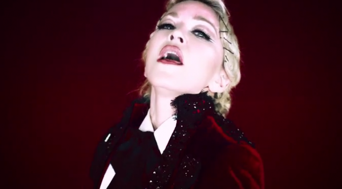 Music Musings:  Madonna Conquers in Living For Love