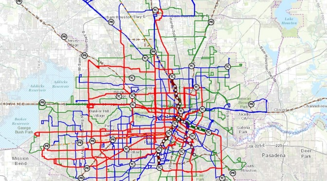 Houston METRO Approves FINAL Reimagining Map