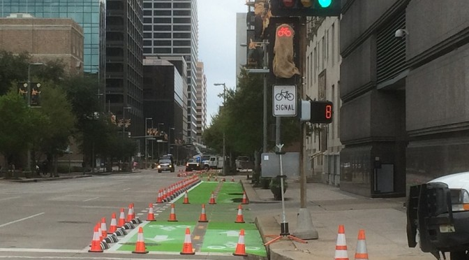 New Projects Slow Houston's 'Auto-Centric' Culture
