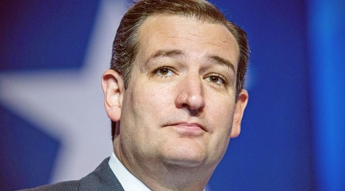 Ted Cruz Attacks Marriage Equality, Same-Sex Spousal Benefits