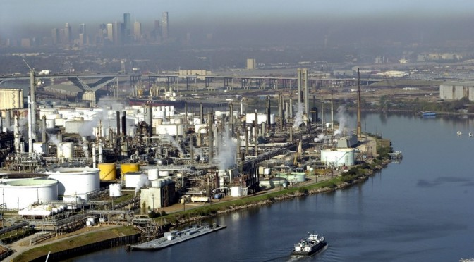 Big Oil Sues To Weaken Houston Pollution Regulators