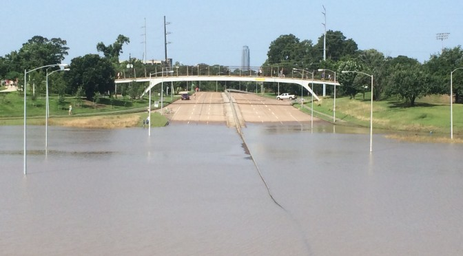 Historic Flooding Affects Houston