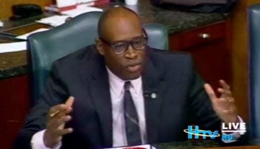 Council Member Green Calls Out Congress On Infrastructure, Project Brays
