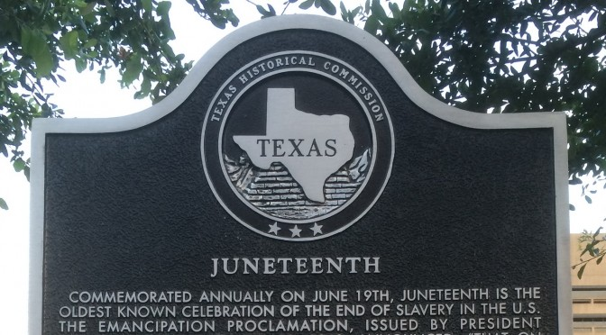 Texas Marks Juneteenth 150th Anniversary