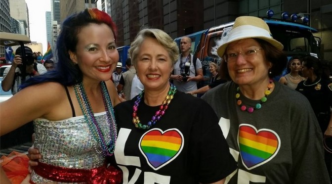 Houston Goes BIG For Historic Pride Celebration