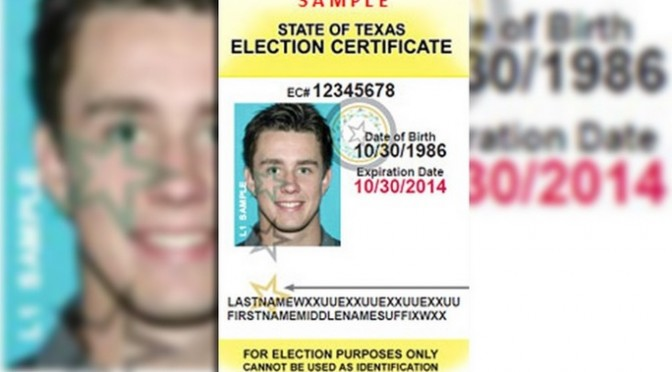 U.S. 5th Circuit Appeals Court Overturns Texas Voter ID Law