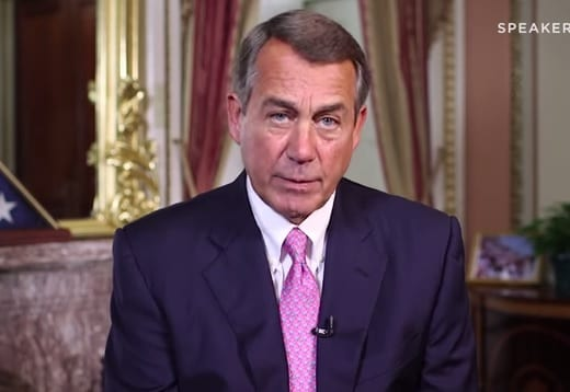 Speaker John Boehner Set To Leave Congress