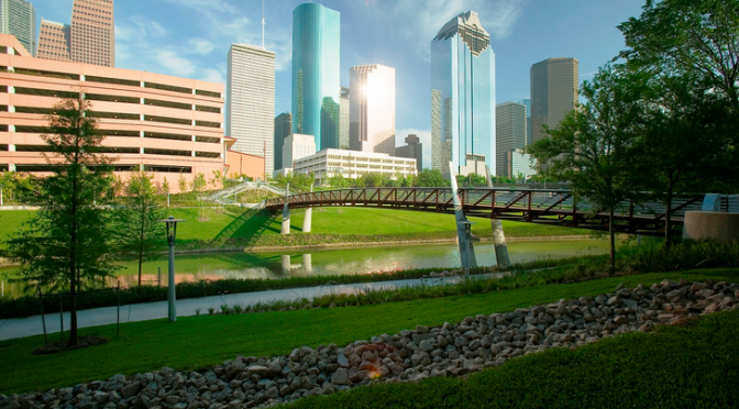 Houston Opens Buffalo Bayou Park to Rave Reviews