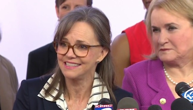 Actress Sally Field Steps Up To Support Proposition 1