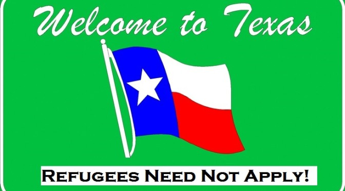 Texas Government Regime Threatens Religious, Aid Groups For Wanting to Help Refugees