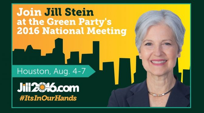 The Green Party Brings Its Mission to Houston