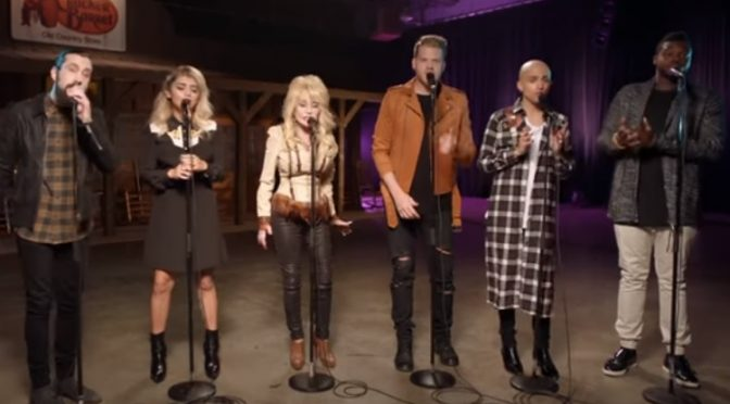Music Musings:  Pentatonix & Dolly Parton– Jolene