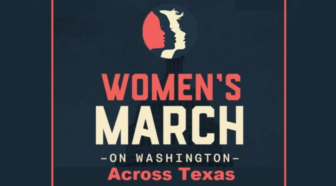 Women's March On Washington, Across Texas