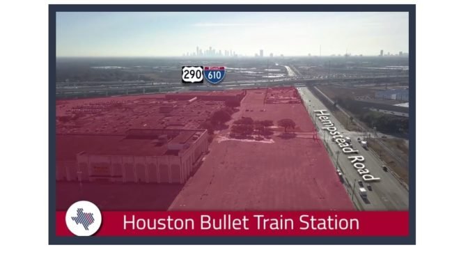 Planned High Speed Rail Selects Houston Terminus